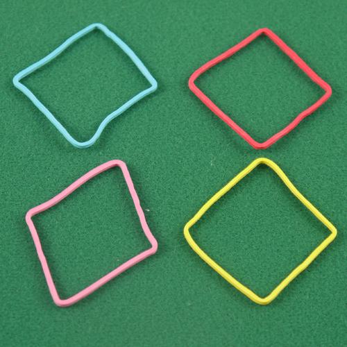 Rubber Band Shapes - Diamonds/Square