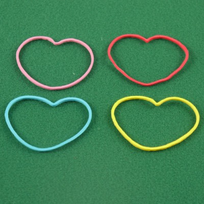 Rubber Band Shapes - Hearts