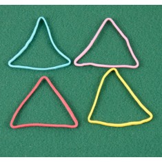 Rubber Band Shapes - Triangles