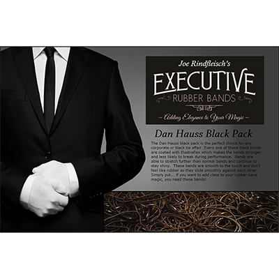 Joe Rindfleisch's Executive Rubber Bands - Dan Hauss Black Pack