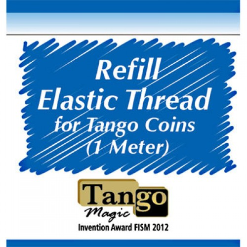 Elastic Thread for Tango Coins - 1 Metre