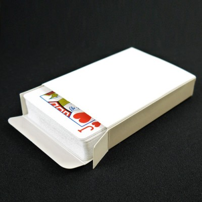 Blank Box - Poker Sized Playing Card Box by PropDog