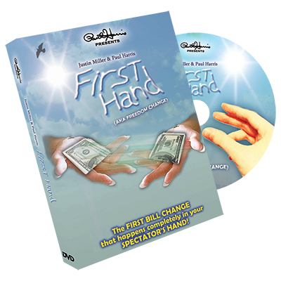 Paul Harris Presents First Hand (AKA Freedom Change) DVD and Gimmick by Justin Miller