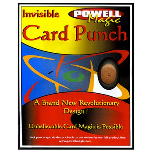Invisible Card Punch - Dave Powell