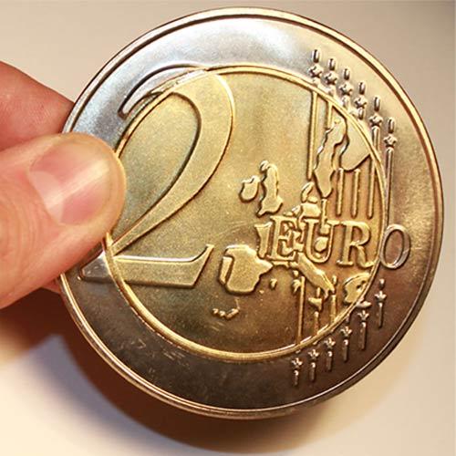 Jumbo 2 Euro Economy coin