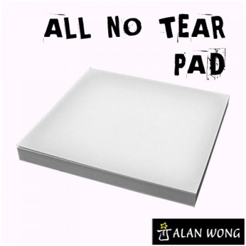 """No Tear Pad - Alan Wong 3.5"""" x 3.5"""""""