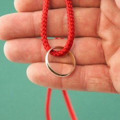 Ring on String - Cord
