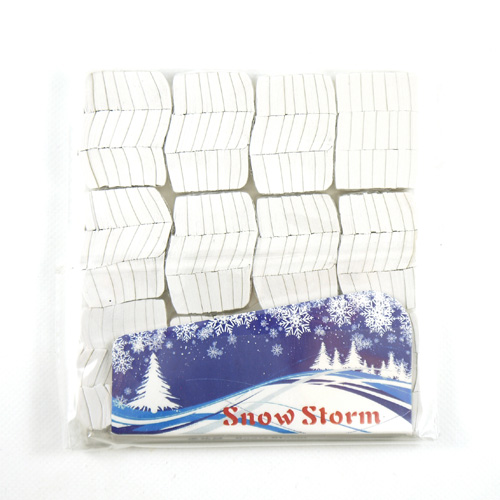 Chinese Snowstorm (White)