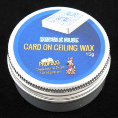 Card on Ceiling Wax by Propdog - Bicycle Blue 15g
