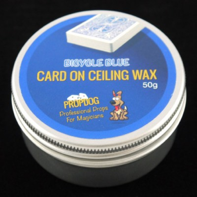 Card on Ceiling Wax by Propdog - Bicycle Blue 50g