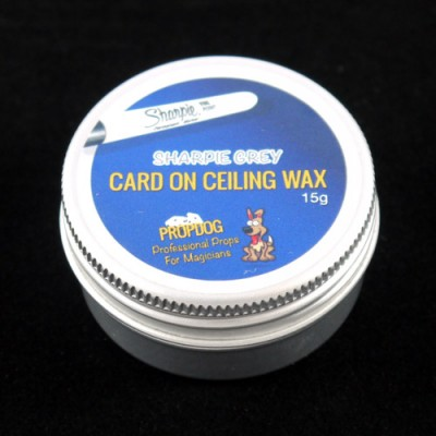 Card on Ceiling Wax by Propdog - Sharpie Grey 15g