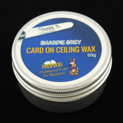 Card on Ceiling Wax by Propdog - Sharpie Grey 50g