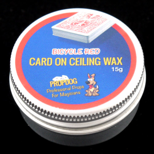 Card on Ceiling Wax by Propdog - Bicycle Red 15g