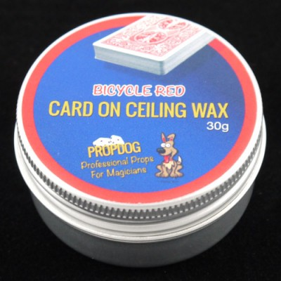 Card on Ceiling Wax by Propdog - Bicycle Red 30g
