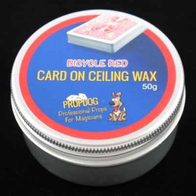 Card on Ceiling Wax by Propdog - Bicycle Red 50g