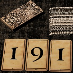 1900 Deck by Marchand de Trucs (Marked Number Deck)