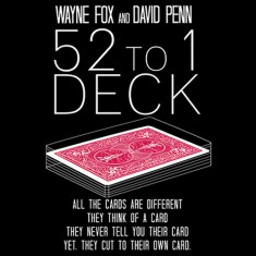 52 to 1 Deck (Red) by Wayne Fox and David Penn