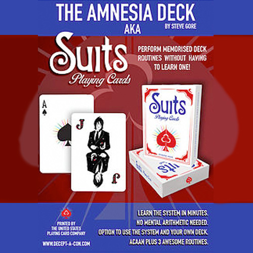 Amnesia Deck (Suits) by Steve Gore