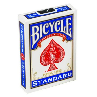 Bicycle Cards - Blue Back International Box Design (NOT 807)