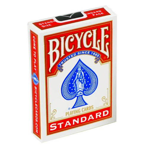 Bicycle Cards - Red Back International Box Design (NOT 807)