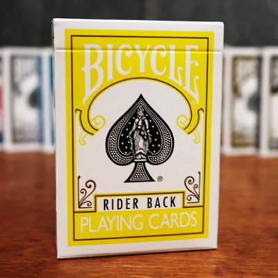 Bicycle Cards - Yellow Back