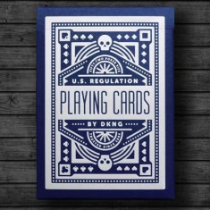 Blue Wheel Playing Cards