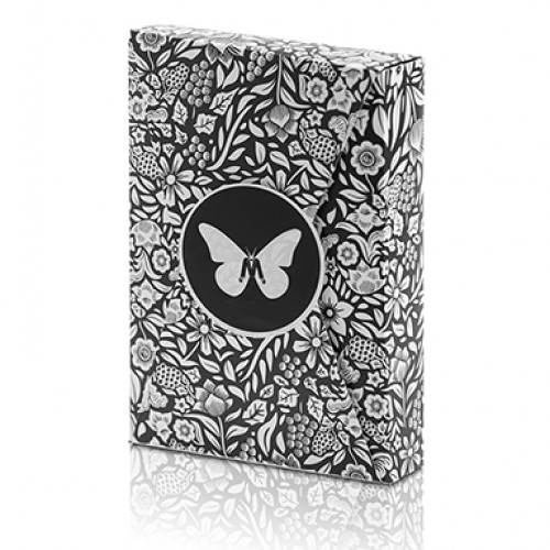 Butterfly Playing Cards Marked Limited Edition (Black and White) by Ondrej Psenicka