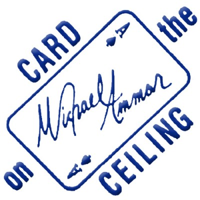 Card on Ceiling by Michael Ammar - Boxed with Instructions