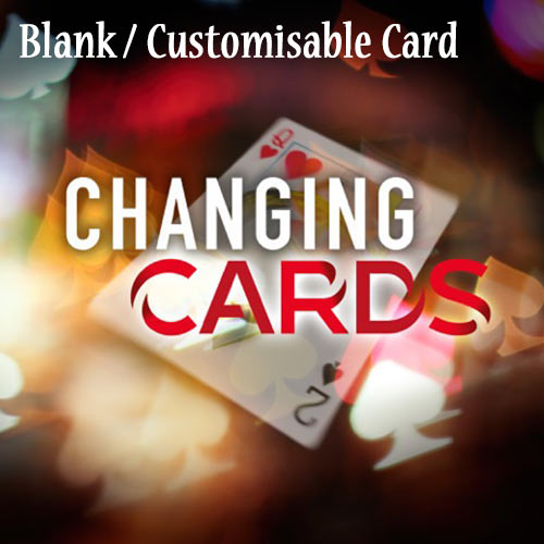 Blank Changing Card by Richard Young