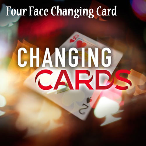 Four Face Changing Card by Richard Young