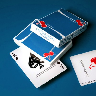 Cherry V3 Tahoe Blue - Playing Cards