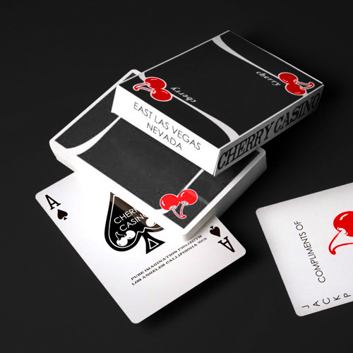 True Black Cherry Casino - Playing Cards