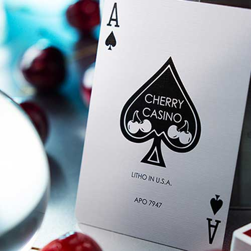 red cherry casino cards