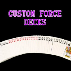 Custom Forcing Decks - Two Way, Three Way, Four Way, Five Way