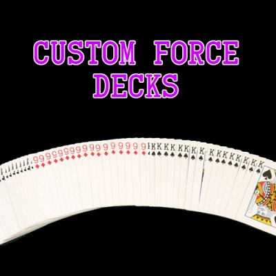 Custom Forcing Decks - Two Way, Three Way, Four Way, Five Way