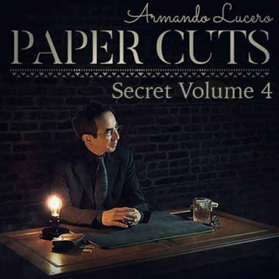 Paper Cuts Volume 4 (Secret Version) - Armando Lucero