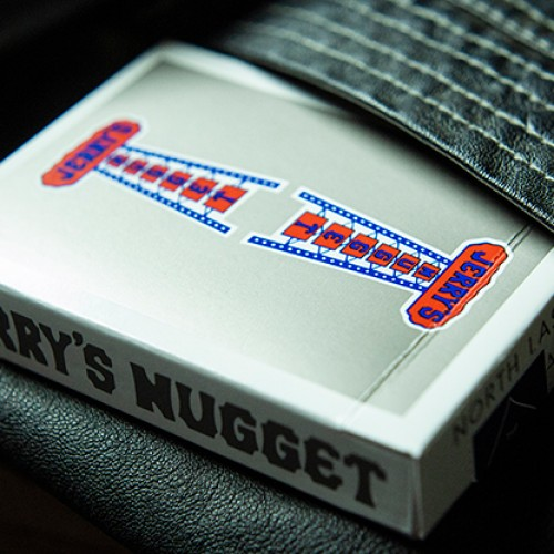 Vintage Feel Jerry's Nuggets Playing Cards - Steel