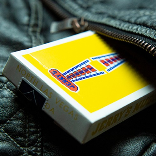 Vintage Feel Jerry's Nuggets Playing Cards - Yellow