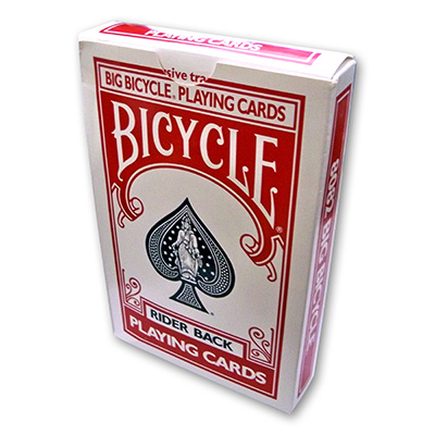 Jumbo Rising Card - Bicycle Red