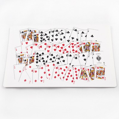 Jumbo Bicycle Cards - 52 on 1