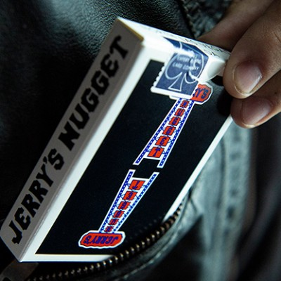 Modern Feel Jerry's Nuggets Playing Cards - Black