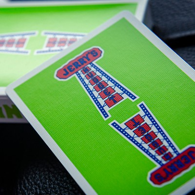 Modern Feel Jerry's Nuggets Playing Cards - Green