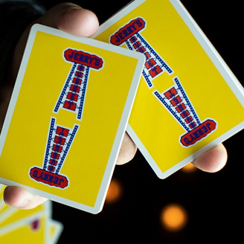 Modern Feel Jerry's Nuggets Playing Cards - Yellow