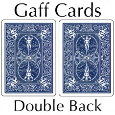Bicycle Cards - Double Back, Blue-Blue