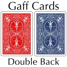 Bicycle Cards - Double Back, Red-Blue