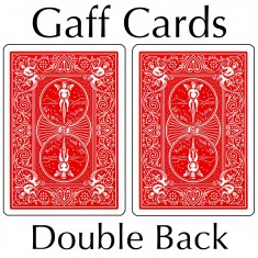Bicycle Cards - Double Back, Red-Red