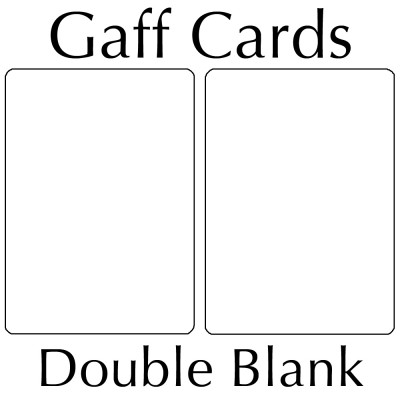 Bicycle Cards - Double Blank