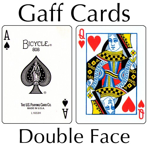 Bicycle Cards - Double Face