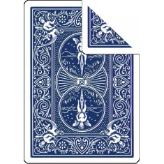 Bicycle Cards - Double Back, Blue-Blue (Pack of 5 cards)