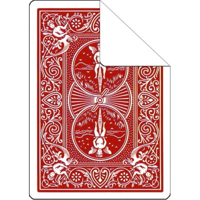 Bicycle Cards - Blank Face, Red Back (Pack of 5)